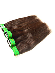 cheap -Remy Human Hair Remy Weaves Straight Indian Hair 300 g 6 Months