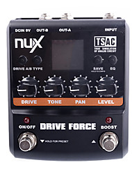 cheap -NUX Drive Force Modeling Stomp Simulator Guitar Effect Pedal 10 Modeling Stompbox Models