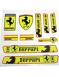 cheap -Car Stickers Sports Full Car Stickers Text / Number Stickers(125x125mm)