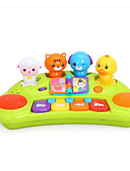 cheap -HUILE TOYS Piano Animals Piano Plastic Toy Gift