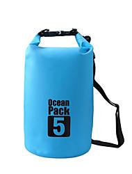 Недорогие -5 L Водонепроницаемый сухой мешок Водонепроницаемость Плавающий Легкость для Плавание Дайвинг Серфинг