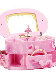 cheap -Music Box Music Jewelry box Ballerina Music Box Musical Jewellery Box Music Box Dancer Classic Ballet Dancer Fun Unique Plastic Women's Boys' Girls' Kid's Adults Graduation Gifts Toy Gift