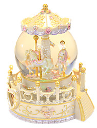 cheap -Music Box Snow Globe Classic Glow in the Dark Kid's Adults Kids Gift Unisex Gift