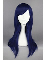 cheap -clannad ichinose kotomi dark blue straight anime 24inch cosplay wig cs 163b Halloween