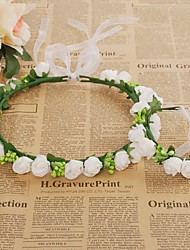 cheap -Foam Headbands / Flowers / Headwear with Floral 1pc Wedding / Special Occasion / Casual Headpiece