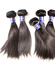 cheap -Human Hair Remy Weaves Straight Peruvian Hair 500 g More Than One Year