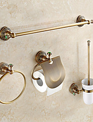 cheap -Bathroom Accessory Set Antique Brass 1set - Bathroom
