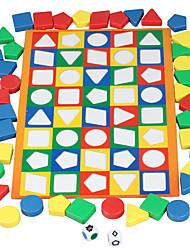 Недорогие -Настольные игры Игрушка Сортировщика Формы пластик Детские Универсальные Игрушки Дары