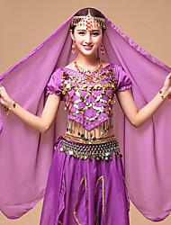 cheap -Belly Dance Veil Women's Performance Tulle Headwear