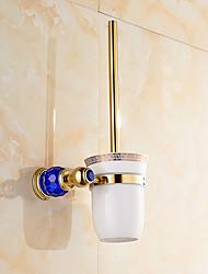 cheap -Toilet Brush Holder Contemporary Brass 1 pc - Hotel bath