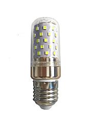 cheap -10 W LED Corn Lights 600 lm E14 E27 T LED Beads SMD 2835 Warm White White 220-240 V 85-265 V / 1 pc