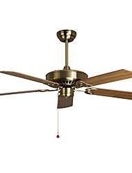 abordables -Ecolight™ Ventilateur de plafond Bronze Métal Designers 220-240V