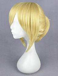 cheap -Synthetic Wig Straight Straight Wig Blonde Medium Length Blonde Red Synthetic Hair Women's Red Blonde hairjoy
