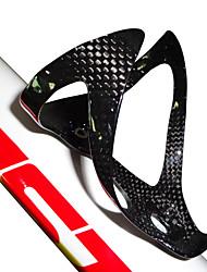 cheap -Bike Water Bottle Cage Carbon Fiber Ultra Light (UL) Durable For Cycling Bicycle Road Bike Mountain Bike MTB BMX TT Folding Bike Carbon Fiber 1pcs cage+2pcs screws