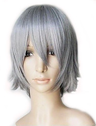 cheap -Cosplay Costume Wig Synthetic Wig Straight Straight Layered Haircut Wig Short Silver Blue Green Synthetic Hair Women's Blue Green Gray hairjoy