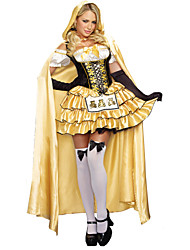 cheap -Maid Costume Cosplay Cosplay Costume Women's Halloween Carnival Festival / Holiday Women's Carnival Costumes Solid Color