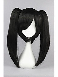 cheap -kagerou project actor black anime 18inch cosplay ponytails wig cs 167d Halloween