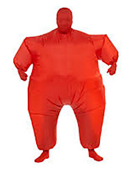 cheap -Wrestler Sumo Cosplay Costume Halloween Props Inflatable Costume Men's Women's Movie Cosplay Halloween Leotard / Onesie Air Blower Halloween New Year Polyester