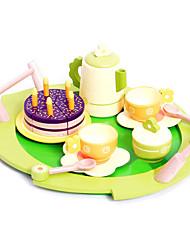 Недорогие -Игрушка кухонные наборы Игрушечная еда Игрушечная еда и всё для кухни Игрушки Круглый Дерево Детские Куски