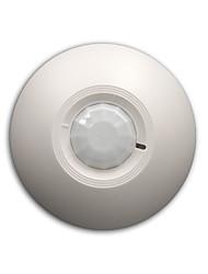 Недорогие -12v проводной детектор движения движения пирса инфракрасный датчик 360 градусов обнаружение потолочный монтаж установка реле no.nc опционально