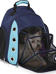 cheap -Cat Dog Carrier Bag & Travel Backpack Dog Clothes Puppy Clothes Dog Outfits Mineral Green Dark Blue Costume for Girl and Boy Dog Fabric Nylon