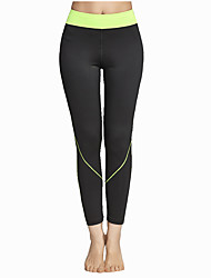 cheap -Women's Running Pants Track Pants Sports Pants Athletic Tights Athleisure Wear Bottoms Yoga Exercise & Fitness Leisure Sports Running Breathable Soft Comfortable Sport Patchwork Sports Fashion