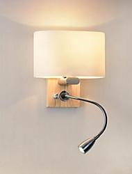 cheap -Modern Contemporary Wall Lamps & Sconces Wood / Bamboo Wall Light 110-120V 220-240V 40 W / E27