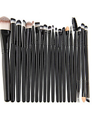 cheap -Professional Makeup Brushes Makeup Brush Set 1 set Portable Travel Eco-friendly Professional Full Coverage Synthetic Hair Beech Wood Makeup Brushes for