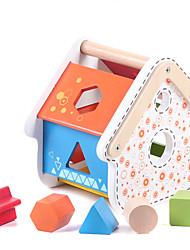 abordables -Jouet trieur de forme Jouet Educatif Maison Classique Fun & Whimsical Garçon Jouet Cadeau