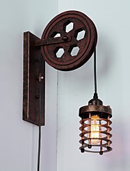 cheap -Rustic / Lodge / Traditional / Classic / Country Wall Lamps & Sconces Metal Wall Light 110-120V / 220-240V 40-60 W / E26 / E27