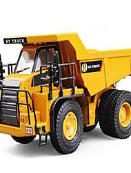 cheap -H1 / Hua Yi Plastic Truck Excavator Mining Dump Truck Toy Truck Construction Vehicle Toy Car Model Car Simulation Truck Excavating Machinery Boys' Girls' Kid's Car Toys