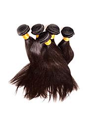 cheap -Virgin Human Hair Remy Weaves Straight Peruvian Hair 500 g 1 Year