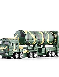 Недорогие -KDW Детские пластик Грузовик / Военная техника / Ракетный грузовик Игрушечные грузовики и строительная техника / Игрушечные машинки / Модель авто Игрушки на солнечных батареях