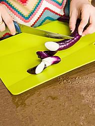 voordelige -Muovi Snijplank Creative Kitchen Gadget Keukengerei Hulpmiddelen Voor kookgerei