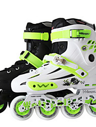 cheap -Men's / Women's Inline Skates Adults' Wearable / Wearproof Green / White / Black Outdoor