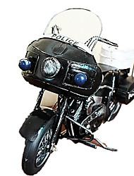 Недорогие -Модели автомобилей Игрушечные мотоциклы Автомобиль Металл Мотоспорт Полицейская машинка Подарок