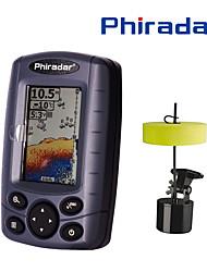 Недорогие -60.96 mm Радара 12 pcs ЖК-дисплей 73 m Портативные Электроника Беспроводной 4×AAA Морское рыболовство Ловля со льда Пресноводная рыбалка / Ловля карпа / Обычная рыбалка / Троллинг и рыболовное судно
