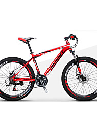 cheap -Mountain Bike / Folding Bike Cycling 21 Speed 27.5 Inch 1.95 Inch SHIMANO Double Disc Brake Suspension Fork Non-Damping Ordinary / Standard Aluminium Alloy / Steel