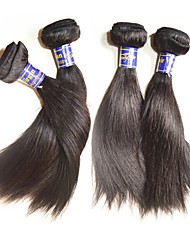 cheap -Remy Human Hair Remy Weaves Straight Peruvian Hair 200 g More Than One Year