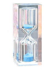cheap -Hourglass Toys Cylindrical Crystal Glass Unisex Pieces