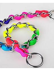 cheap -Dog Collar / Leash Training / Safety Rainbow PU Leather Rainbow