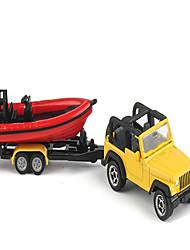 Недорогие -Игрушечные машинки Модель авто Летательный аппарат моделирование Металлический сплав Сплав металла Металл для Детские Универсальные Мальчики