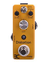 cheap -ENO EX Micro Pedal DA-3 Trinity Distortion Amplifier Metal Case Mini pedal EX PEDAL