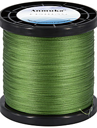 cheap -PE Braided Line / Dyneema / Superline 4 Strands Fishing Line 1000M / 1100 Yards PE 80LB 70LB 60LB Abrasion Resistant