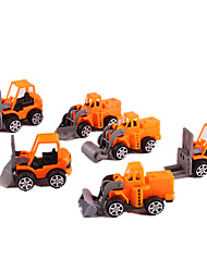 cheap -Toy Car Pull Back Car / Inertia Car Pull Back Vehicle Construction Truck Set Classic Simulation Classic Unisex Toy Gift