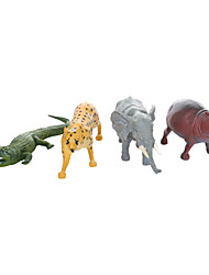 cheap -Educational Toy Model Building Kit Elephant Dinosaur Horse Crocodile Hippo Plastic 4 pcs Party Favors, Science Gift Education Toys for Kids and Adults / 14 Years & Up