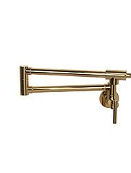cheap -Kitchen faucet - Two Handles One Hole Rose Gold Pot Filler Centerset Art Deco / Retro / Country / Modern Kitchen Taps