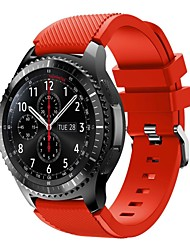 cheap -Watch Band for Gear S3 Frontier Samsung Galaxy Sport Band Silicone Wrist Strap