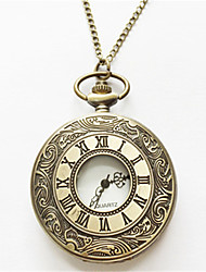 cheap -Men's Pocket Watch Quartz Silver / Gold Analog Gold Silver