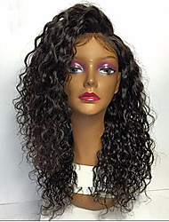 cheap -Premierwigs lace front Virgin human hair wigs loose curly wave glueless 130 150 180 density brazilian virgin remy wigs with baby hair